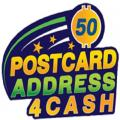 Postcard Address 4 Cash