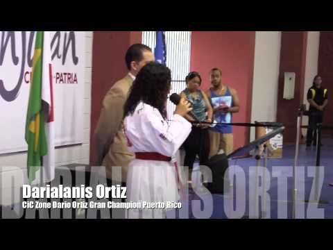 Gran Champion International Karate Do CiC Zone Dario Ortiz Presentacion 2014