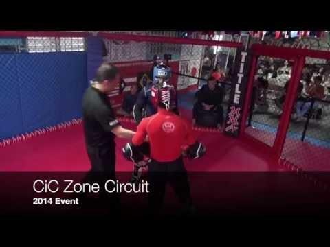 Fogueo CiC Zone 2014 Circuito 1 Set 1 Deportes De Combates Mixtos , Puerto Rico